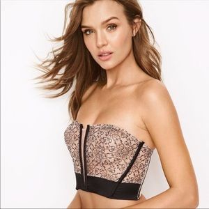 VS VERY SEXY UNLINED STRAPLESS SIZE XS